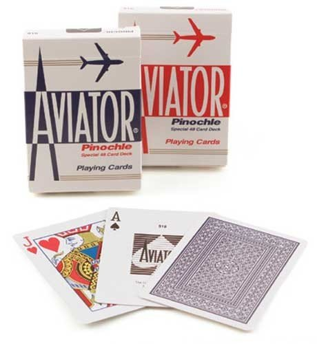Aviator casino playing cards